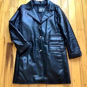 VINTAGE V Collection Italian Leather Jacket M or W